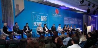 Futuro do varejo de beleza exige tecnologia e personalização de experiênciasCesar Tsukuda, diretor geral da Beauty Fair, no evento Pós-NRF 2020: feira norte-americana inspira inovações para o setor nacional de beleza (foto: Diego Marcos Fotografia)